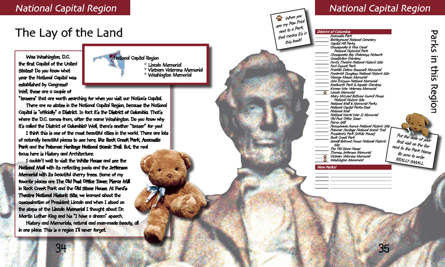 Teddy's Travels • America's National Parks